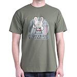Bad Luck Bunny Karate Dark T-Shirt