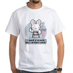 Bad Luck Bunny Karate White T-Shirt