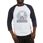 Bad Luck Bunny Karate Baseball Jersey