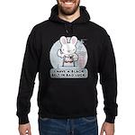 Bad Luck Bunny Karate Hoodie (dark)
