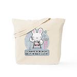 Bad Luck Bunny Karate Tote Bag