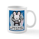 Bad Luck Bunny Karate Mug