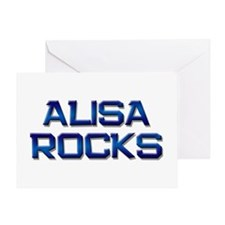 alisa rocks Greeting Card