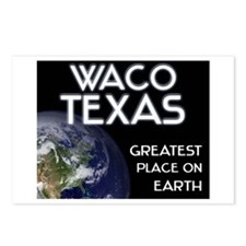 waco texas - greatest place on earth Postcards (Pa