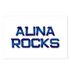 alina rocks Postcards (Package of 8)