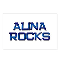 alina rocks Postcards (Package of 8)