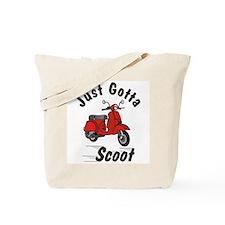 Just Gotta Scoot Red Tote Bag
