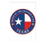 Texas Flag OES Postcards (Package of 8)
