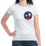 Texas Flag OES Jr. Ringer T-Shirt