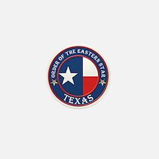 Texas Flag OES Mini Button