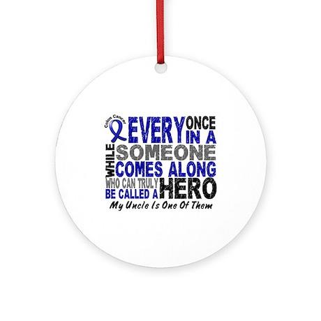 HERO Comes Along 1 Uncle CC Ornament (Round)