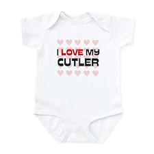 I Love My Cutler Onesie