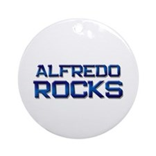 alfredo rocks Ornament (Round)