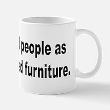 Cat Owner's Furniture Humor Mug