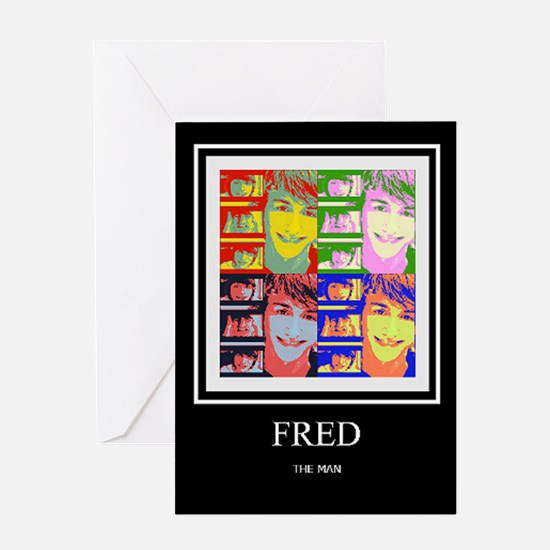 FREDTHEMAN Greeting Cards