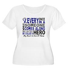 HERO Comes Along 1 Aunt CC T-Shirt