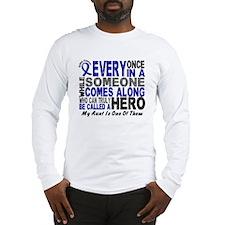 HERO Comes Along 1 Aunt CC Long Sleeve T-Shirt