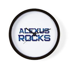 alexus rocks Wall Clock