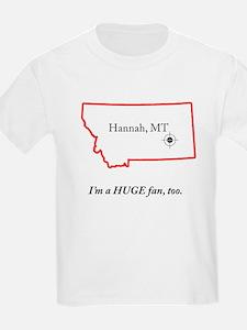 Hannah, MT T-Shirt