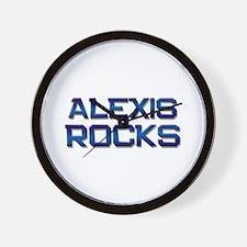 alexis rocks Wall Clock
