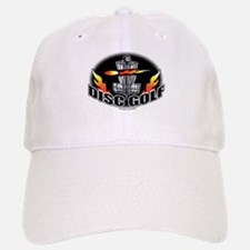 Flammin Disc Golf Baseball Baseball Cap