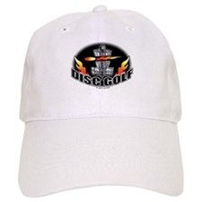 Flammin Disc Golf Baseball Cap