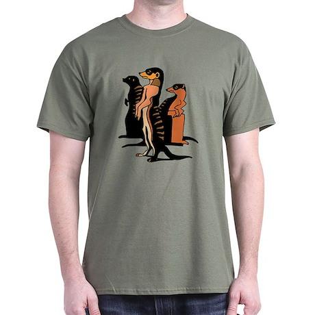 Emma's Everyday Meerkats Dark T-Shirt