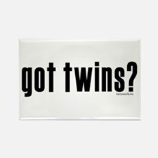got twins? Rectangle Magnet (10 pack)