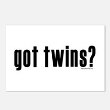 got twins? Postcards (Package of 8)