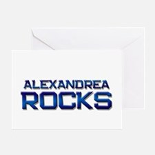 alexandrea rocks Greeting Card