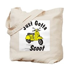 Just Gotta Scoot Yellow Tote Bag