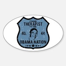 Therapist Obama Nation Oval Decal