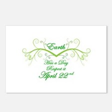 Respect Earth Day Postcards (Package of 8)