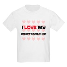 I Love My Cryptographer T-Shirt