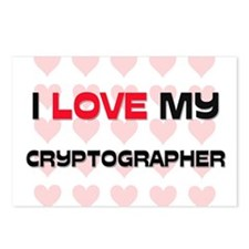 I Love My Cryptographer Postcards (Package of 8)