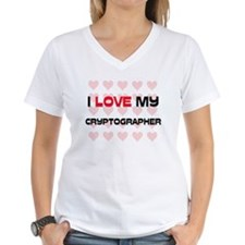 I Love My Cryptographer Shirt