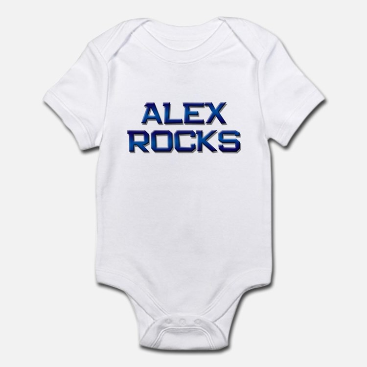 alex rocks Infant Bodysuit