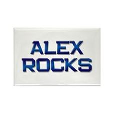 alex rocks Rectangle Magnet (10 pack)
