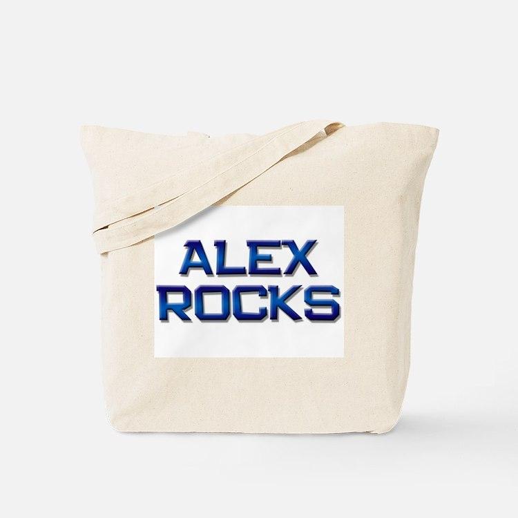 alex rocks Tote Bag