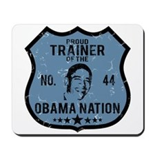 Trainer Obama Nation Mousepad