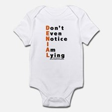 DENIAL Infant Bodysuit