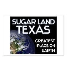 sugar land texas - greatest place on earth Postcar