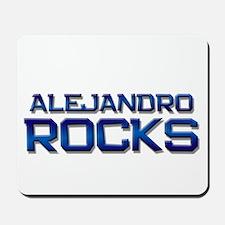 alejandro rocks Mousepad