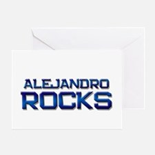 alejandro rocks Greeting Card