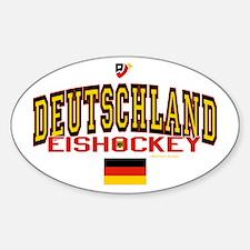 DE Germany Hockey Deutschland Decal