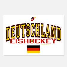 DE Germany Hockey Deutschland Postcards (Package o