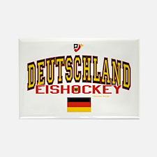 DE Germany Hockey Deutschland Rectangle Magnet