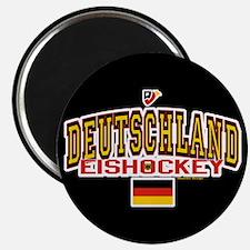 DE Germany Hockey Deutschland Magnet