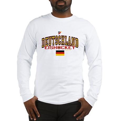 DE Germany Hockey Deutschland Long Sleeve T-Shirt