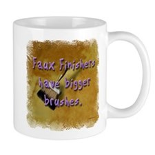 """Faux Finishers Have Bigger B Mug"